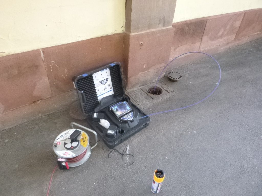 inspection vidéo canalisation