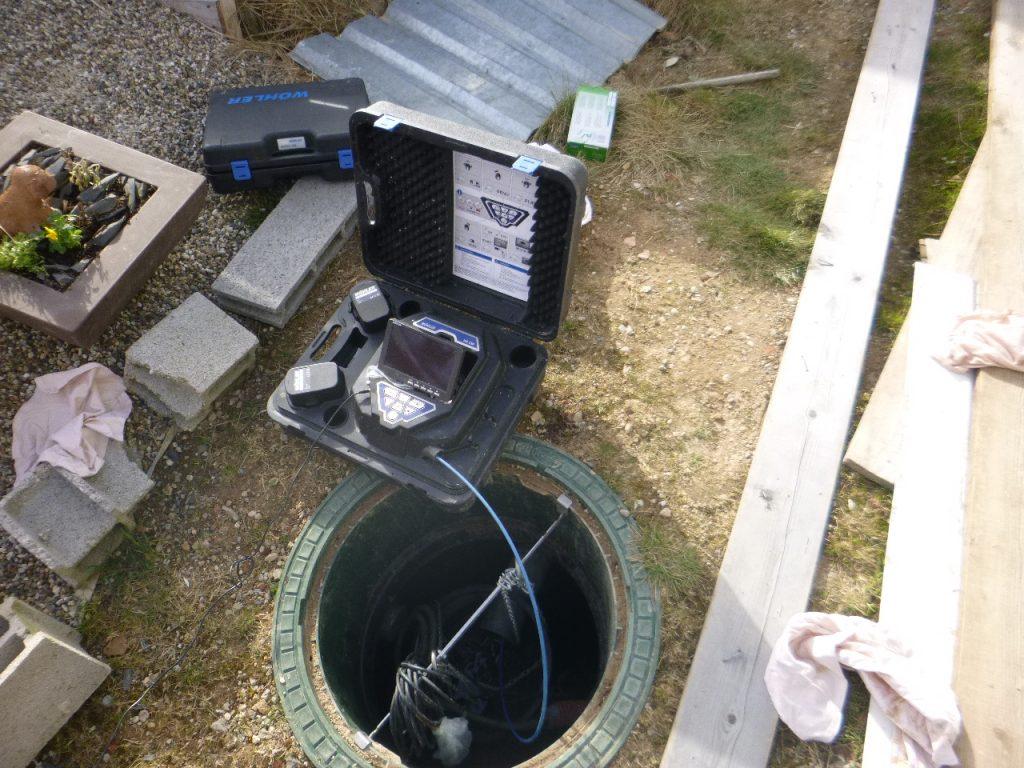 inspection caméra video canalisation eaux usées
