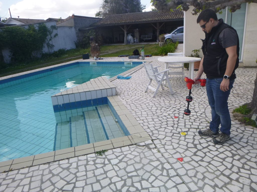 localisation fuite piscine