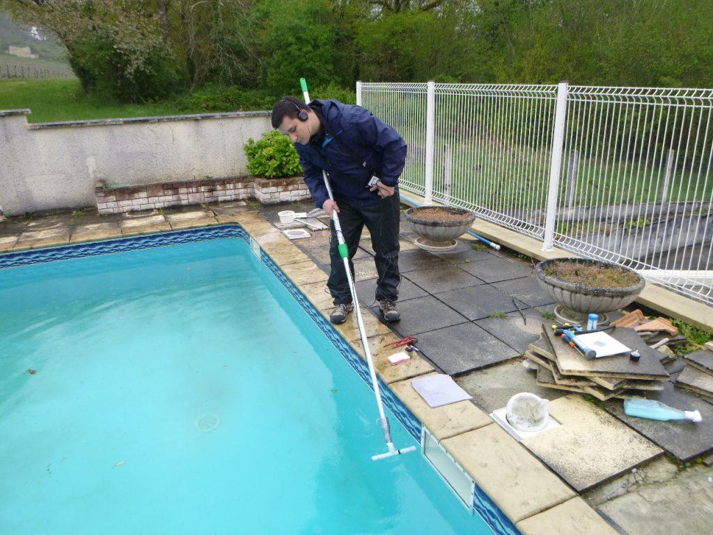 trouver fuite liner piscine
