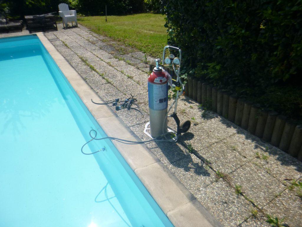 trouver fuite refoulement piscine