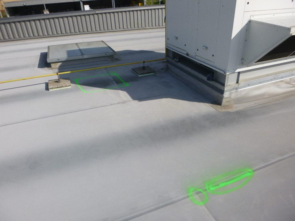 trouver fuite toiture